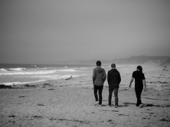 My Boys at Monterey Beach