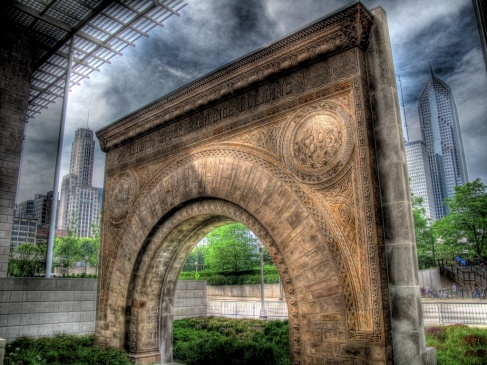 The Chicago Stock Exchange Arch