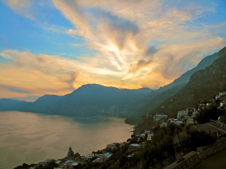 Amalfi Coast at Sunset