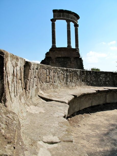 Ruins in Pompeii
