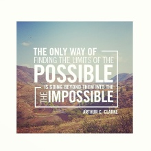 Clarke Quote - impossible